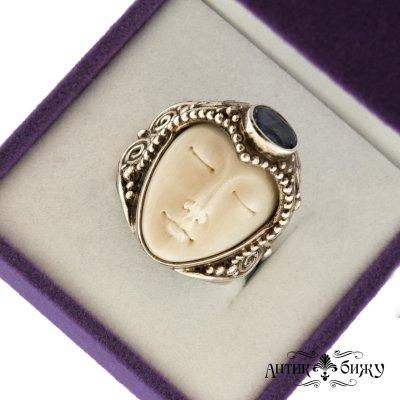 Винтажное серебряное кольцо «GODDESS» от Sajen