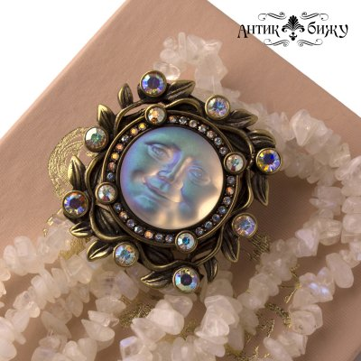 Винтажные часы - браслет  «Луна» от Kirks Folly