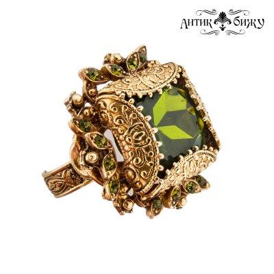 Редкое винтажное кольцо «Сады Версаля» от Florenza