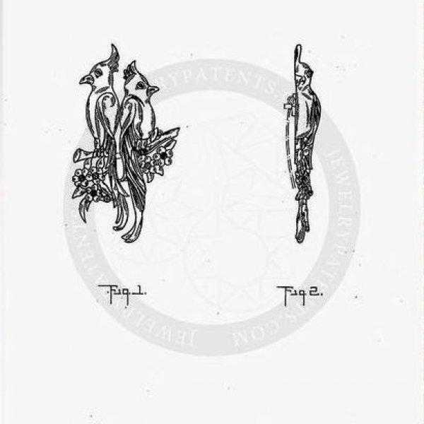 Коллекционные меховые клипсы «Попугаи» Coro Duette это настоящая бижутерия класса люкс