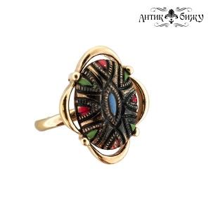 Винтажное кольцо «Гобелен» от Sarah Coventry