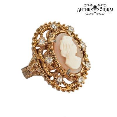 Старинное кольцо «Камея» от Florenza