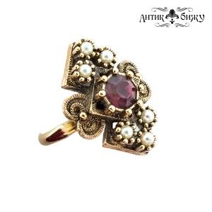 Винтажное кольцо «Александрия» от Sarah Coventry
