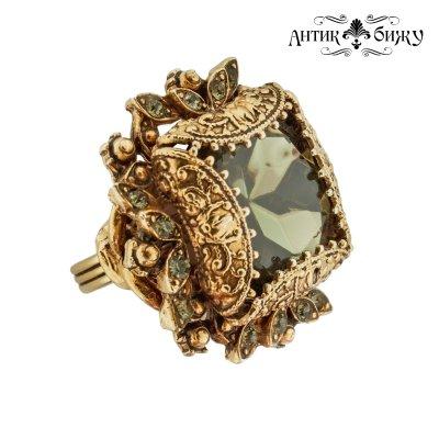 Редкое винтажное кольцо «Маркиза» от Florenza