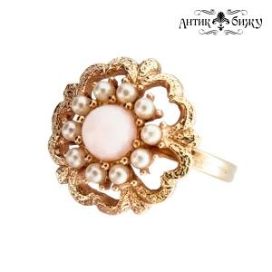 Винтажное кольцо «Ангельский цвет» от Sarah Coventry