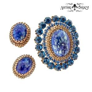 Антикварный комплект «Тайна синего» от Austria