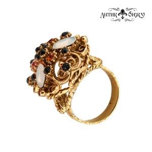Винтажное коктейльное кольцо от Florenza