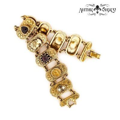 Винтажный браслет в византийском стиле от Goldette