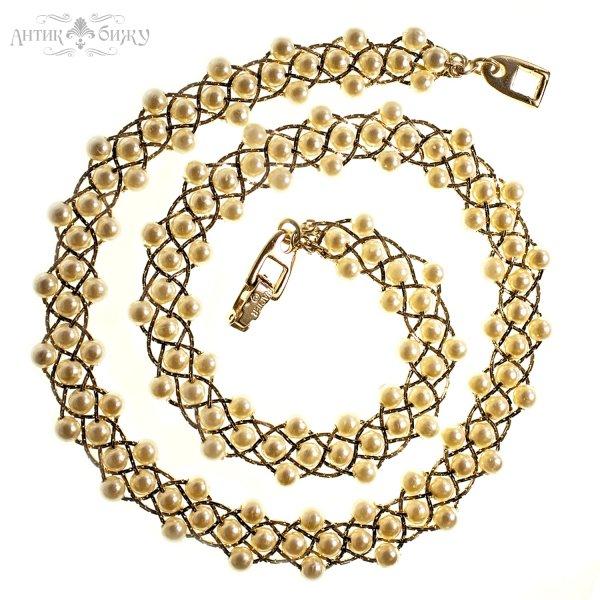 Винтажное ожерелье от Napier для любителей старины и антиквариата