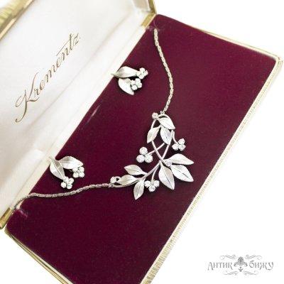 Винтажный комплект «Блеск бриллиантов» от Krementz