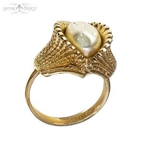 Винтажное кольцо «Жемчужина» от Sarah Coventry