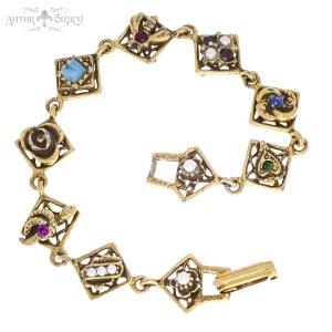 Антикварный браслет «Мгновения» от Goldette