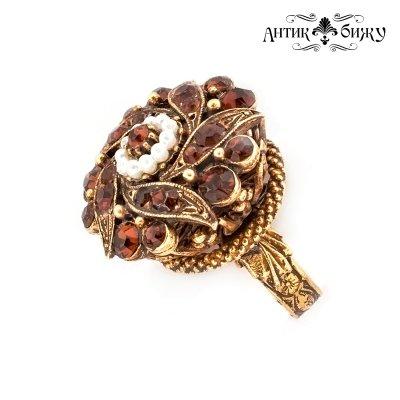 Винтажный перстень «Эпоха Тюдоров» от Florenza