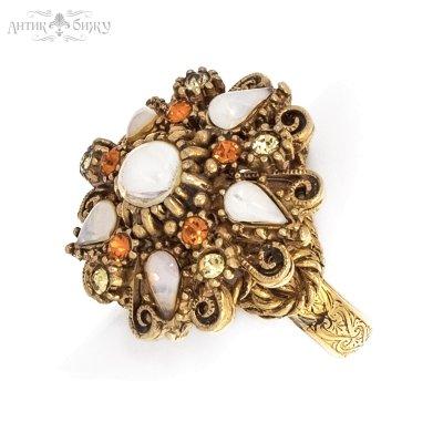 Винтажное коктейльное кольцо «Дворцовый шик» от Florenza