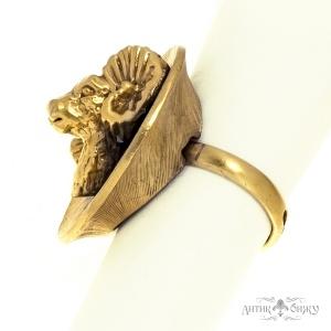 Винтажное кольцо «Овен» от Tortolani
