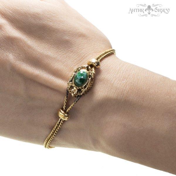 Винтажный браслет «Черепашка» от Goldette это настоящая бижутерия класса люкс