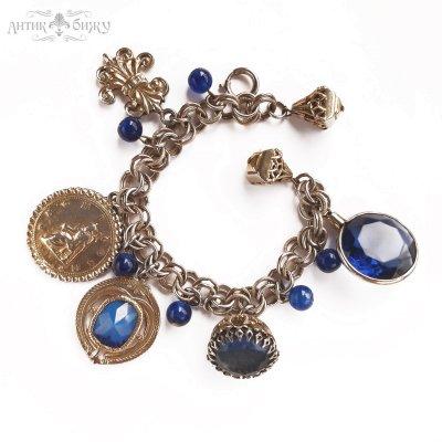 Винтажный браслет в геральдическом стиле