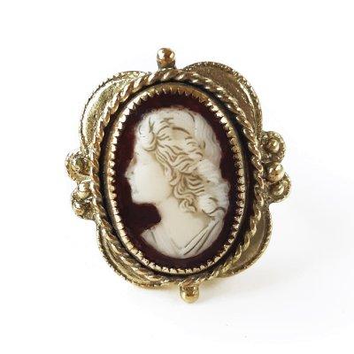 Винтажное кольцо «Таис Афинская» от Whiting and Davis