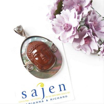 Серебряный кулон - талисман «Будда» от Sajen