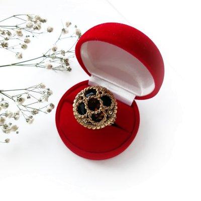 Винтажное кольцо «Вечерний раут» от Florenza