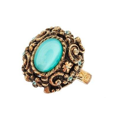 Винтажное коктейльное кольцо «Зарина» от Sarah Coventry