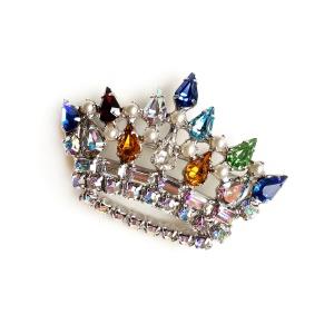Винтажная брошь «Семейная корона» от B. David