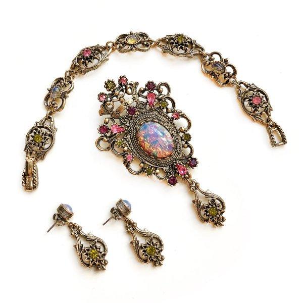 Винтажный комплект «Графиня» от Sarah Coventry для любителей старины и антиквариата