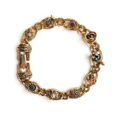 Винтажный браслет «Любовь в деталях» от Goldette