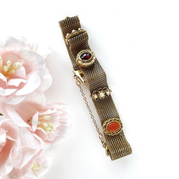 Винтажный браслет «Ар-деко» от Goldette для любителей старины и антиквариата