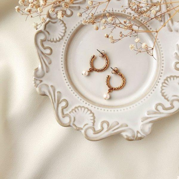 Винтажные серьги «Полукольца» от Avon редкие антикварные украшения
