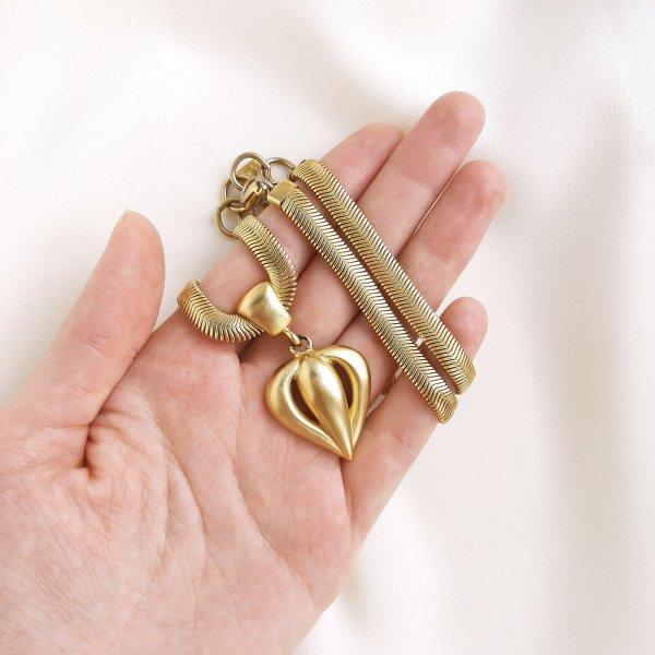 Винтажное колье «Сердце» от Anne Klein для самых оригинальных и стильных
