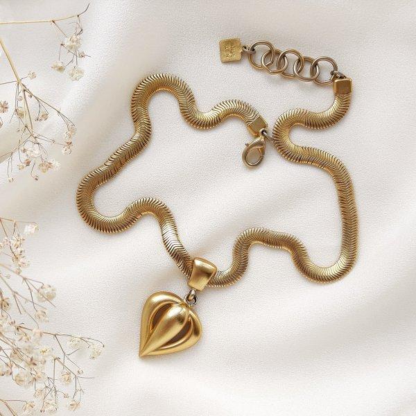 Винтажное колье «Сердце» от Anne Klein оригинальный и эксклюзивный подарок девушке