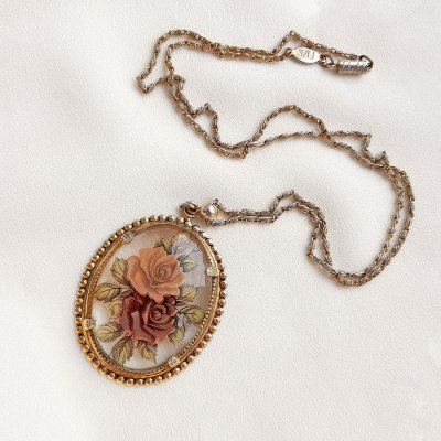 Винтажный кулон на цепи от 1928 Jewelry
