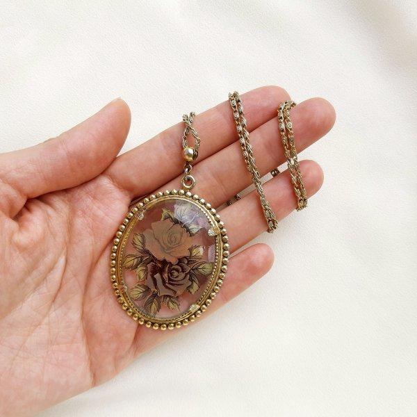 Винтажный кулон на цепи от 1928 Jewelry это настоящая бижутерия класса люкс