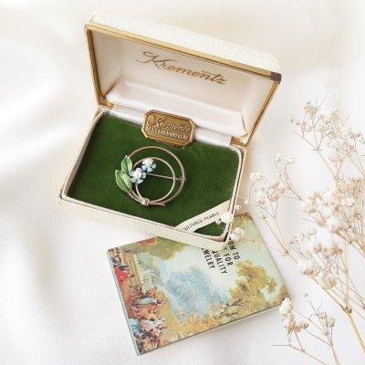 Коллекционная брошь «Незабудки» от Krementz