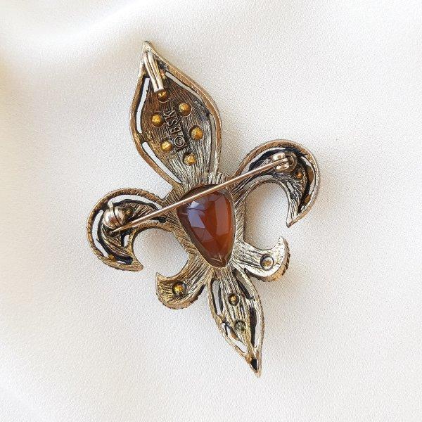 Геральдическая брошь - кулон «Fleur de lis» от BSK Купить бижутерию