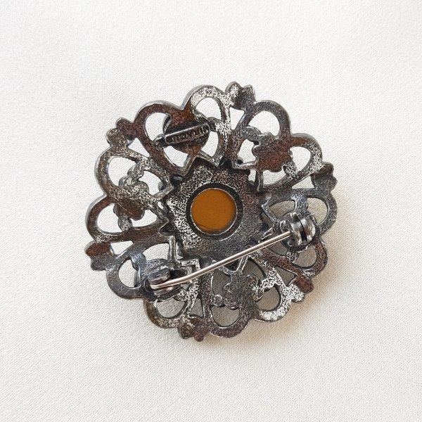 Винтажная брошь «Пурпур» от Miracle редкие антикварные украшения