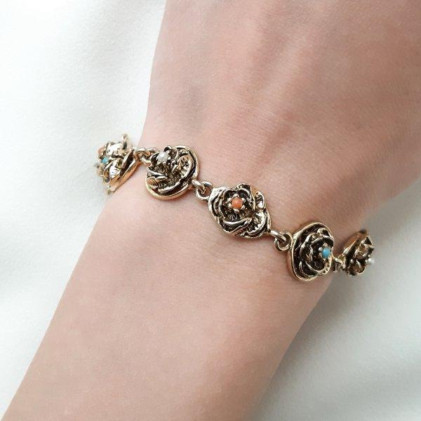 Винтажый браслет «Розочки» от Goldette для самых оригинальных и стильных