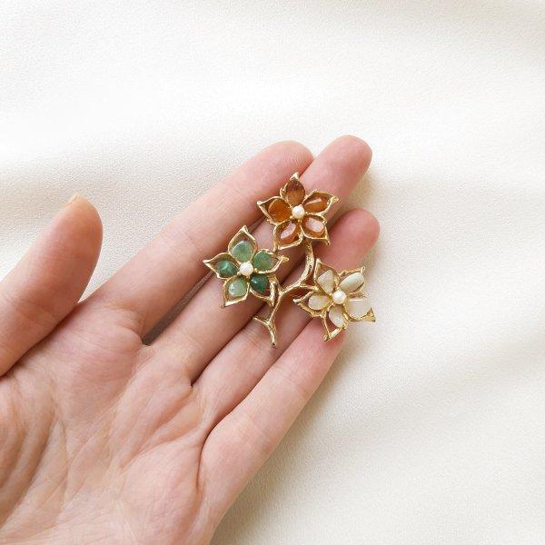 Винтажная брошь «Волшебные цветы» от Swoboda для самых оригинальных и стильных