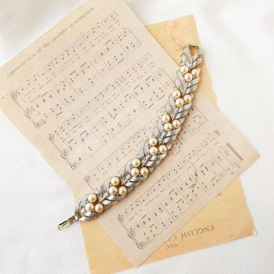 Винтажный браслет «Кремовый жемчуг» от Lisner