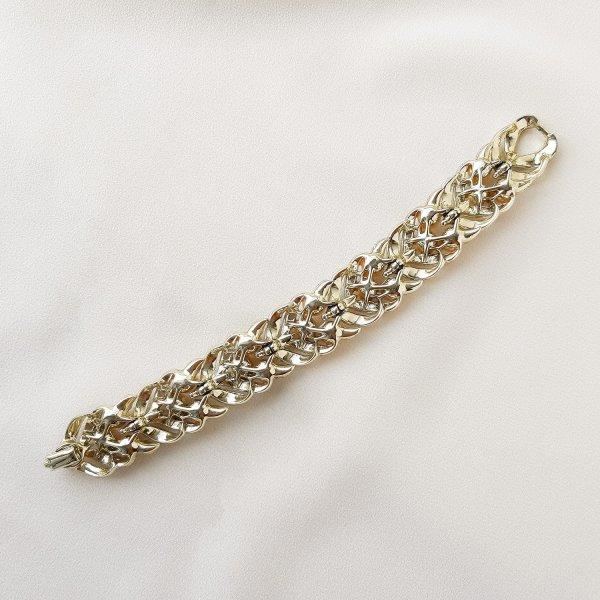 Винтажный браслет «Кремовый жемчуг» от Lisner это настоящий редкий винтаж