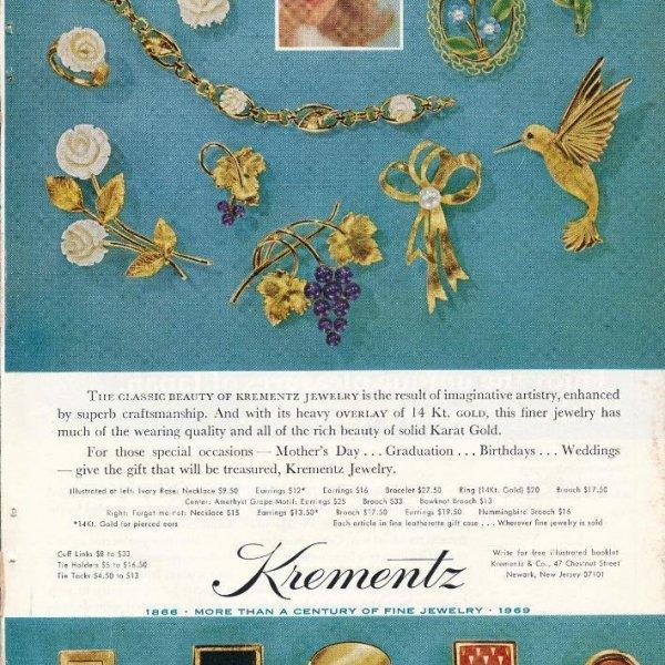 Винтажная брошь из кости «Белые розы» от Krementz редкие антикварные украшения