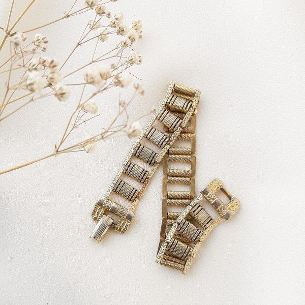 Винтажный браслет «Орнамент» от Goldette оригинальный и эксклюзивный подарок девушке