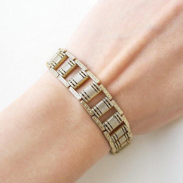 Винтажный браслет «Орнамент» от Goldette для самых оригинальных и стильных