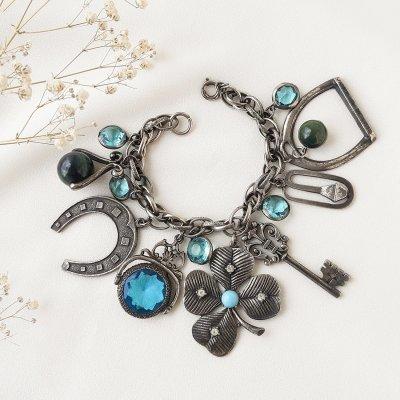 Винтажный браслет с подвесками «Удача» от Art