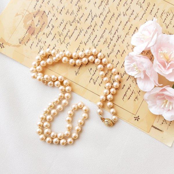 Винтажные жемчужные бусы от Marvella оригинальный и эксклюзивный подарок девушке