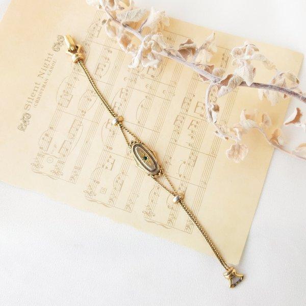 Винтажный браслет в викторианском стиле от Goldette оригинальный и эксклюзивный подарок девушке