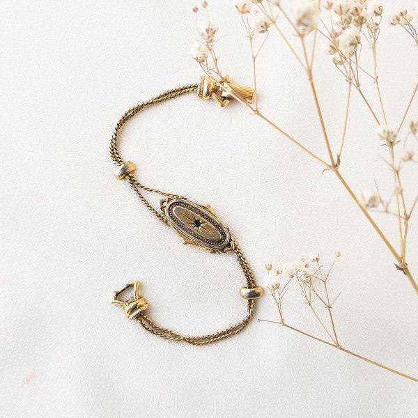 Винтажный браслет в викторианском стиле от Goldette это настоящий редкий винтаж