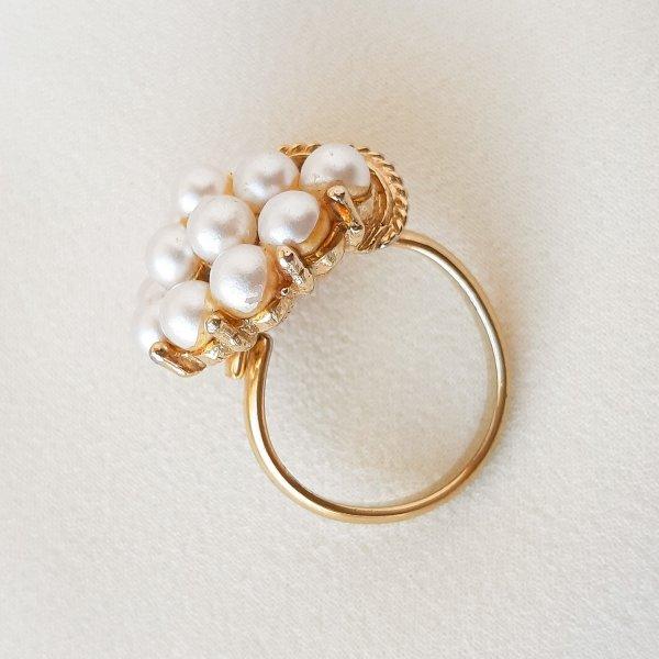 Винтажное коктейльное кольцо «Нежность» от Art для самых оригинальных и стильных