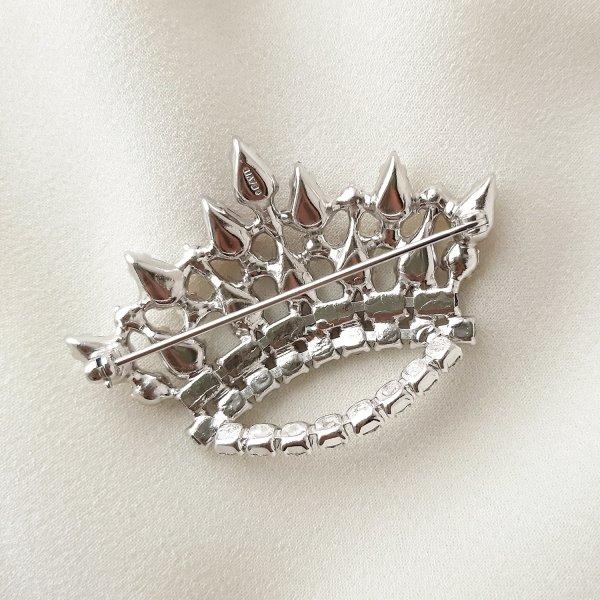 Винтажная брошь «Family crown» от B. David редкие антикварные украшения
